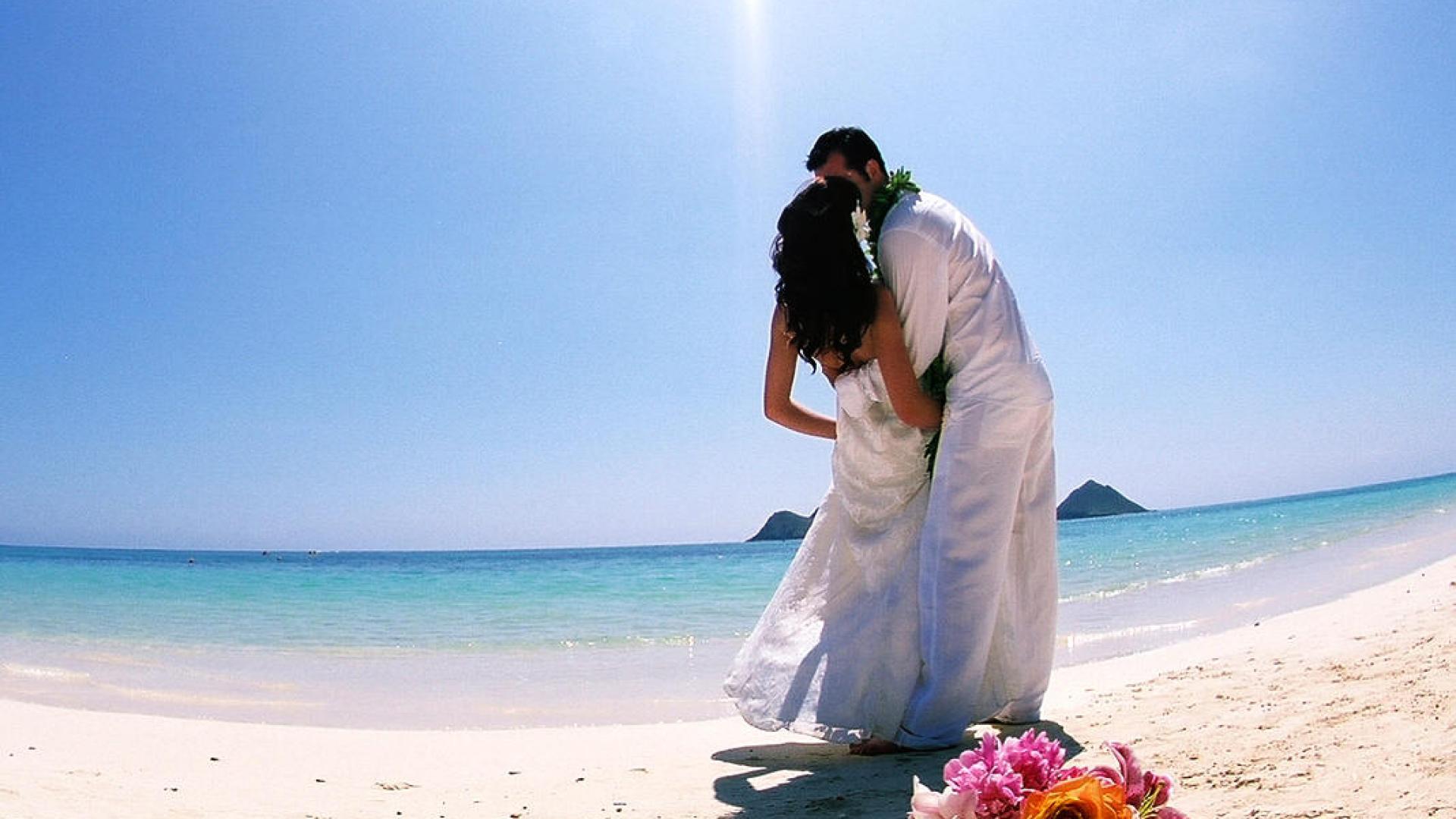 Hawaii-Beach-Wedding-Photos-HD-Wallpaper