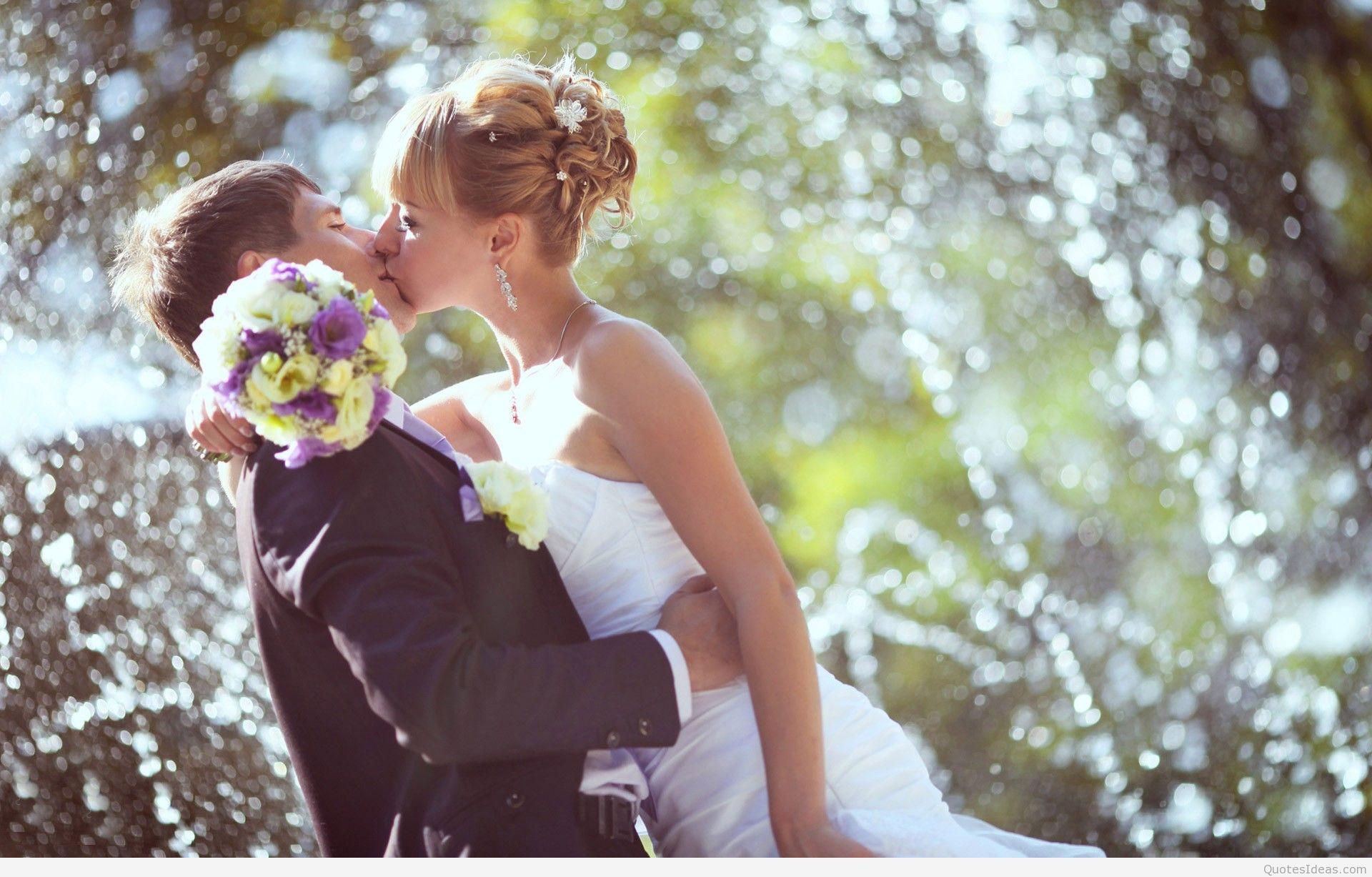 Weddings-Couple-Kissing-HD-Wallpaper